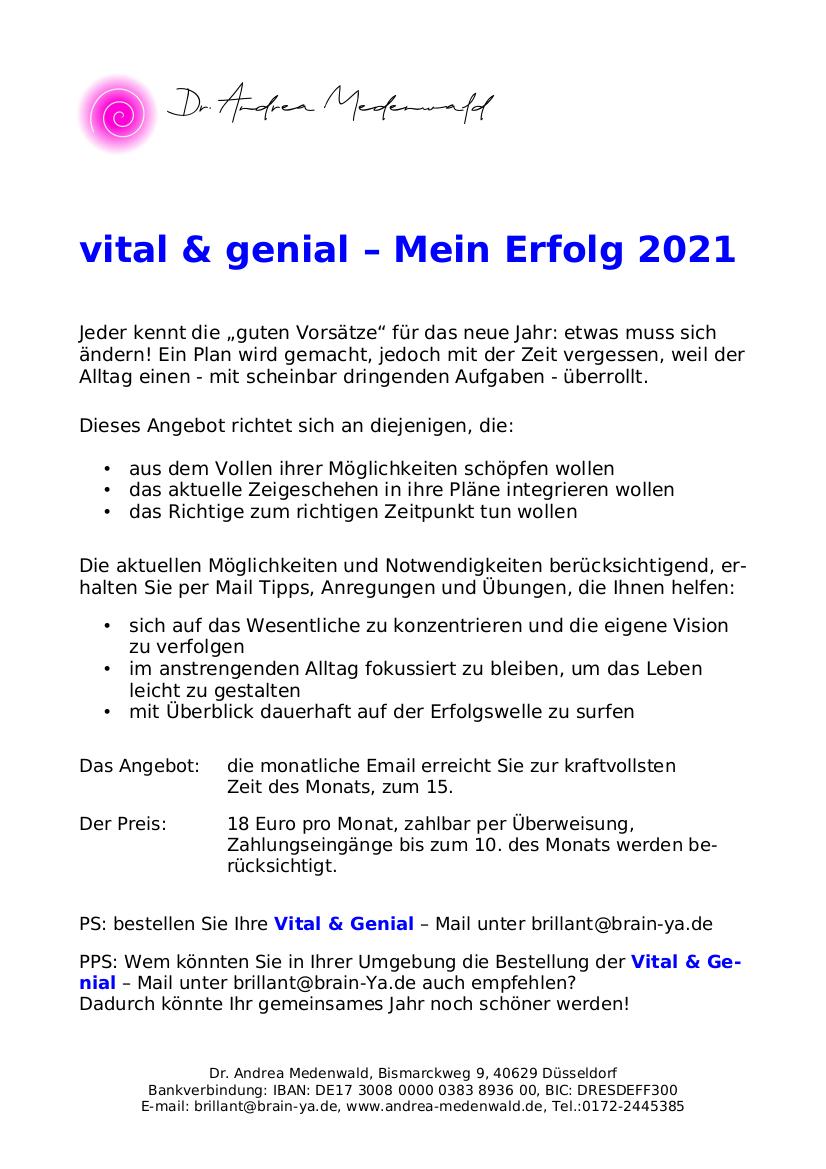 Flyer V&G 2021